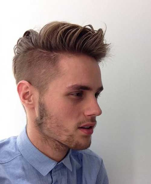 Cool Boy With Hairstyles Mens Fashion Trends 2016 Ha
