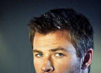 Chris Hemsworth Male Celebrities With Short Hair