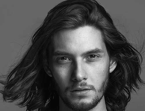 Ben Barnes Male Celebs with Long Hair