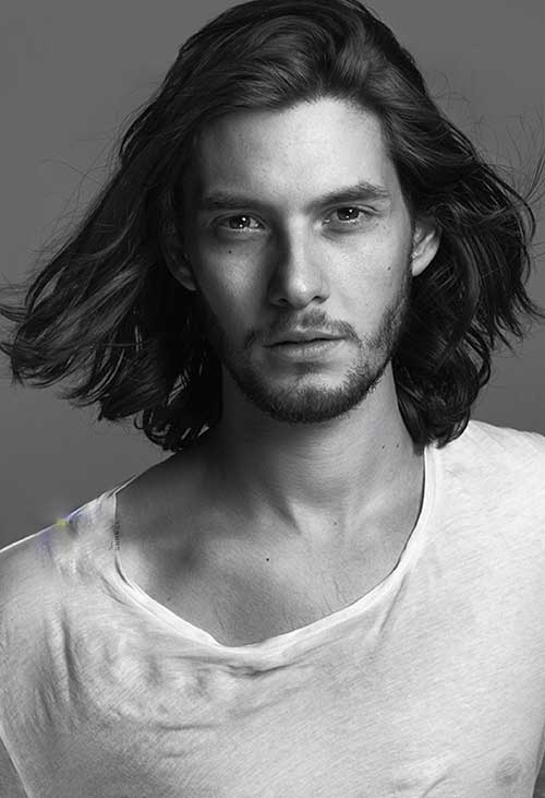 Male Celebs With Long Hair Mens Hairstyles 2018