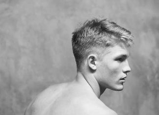 Cool Men Hairstyle Back