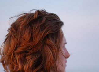 Red Wavy Hair for Men