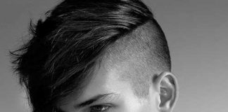 Messy Shaved Haircuts for Guys