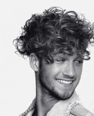 Different Curly Haircuts for Men
