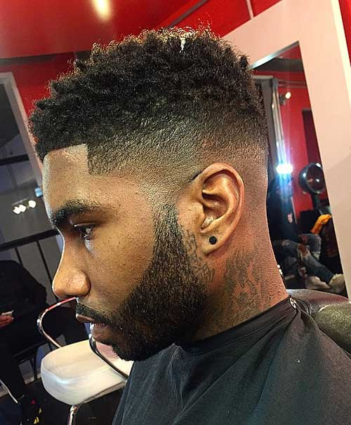 10 Black Male Fade Haircuts Mens Hairstyles 2018