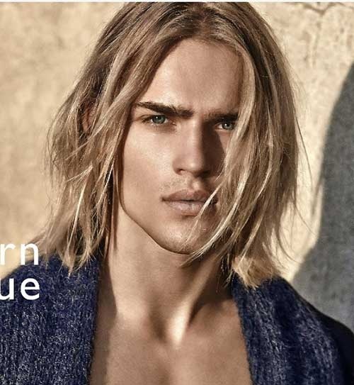 Guys with Long Blonde Hair | Mens Hairstyles 2018