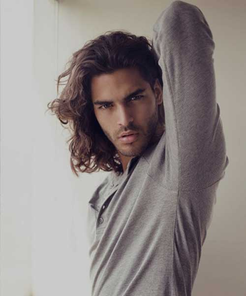 Long Hairstyles For Men With Thick Hair Mens Hairstyles 2018