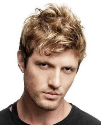 Blonde Mens Hairstyles Thick Hair