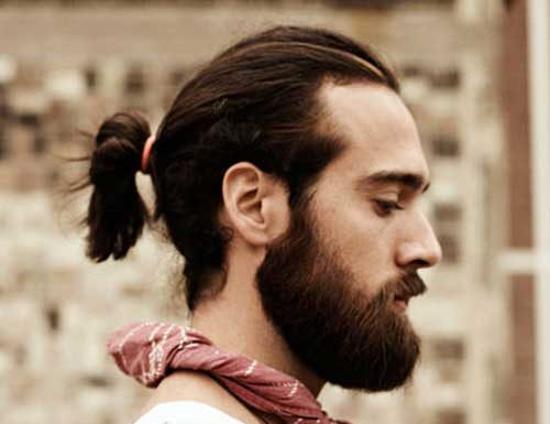 Cool Mens Ponytail Hairstyles