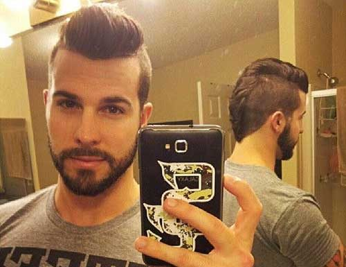 Cool Mens Shaved Sides Hairstyles