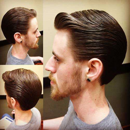 15 Slick Back Hair Men Mens Hairstyles 2018