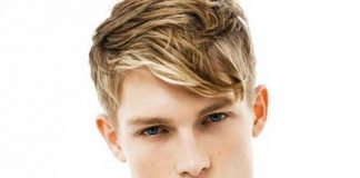 Men Highlighted Hair Colour