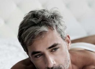 Trendy Men Short Gray Hairstyles