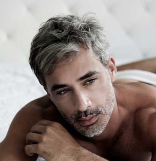 Hairstyles For Grey Haired Men 108