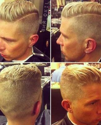 Comb Over Mens Hairstyles Short Back And Sides