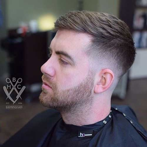 new short hair styles for men 20 hairstyles for mens hairstyles 2018 4585 | 20.Short Hairstyle for Men