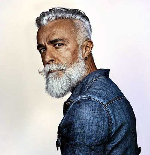Old Man Long Hairstyles - HairStyles