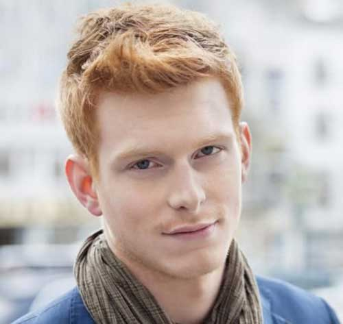 10 Guy With Red Hair Mens Hairstyles 2018
