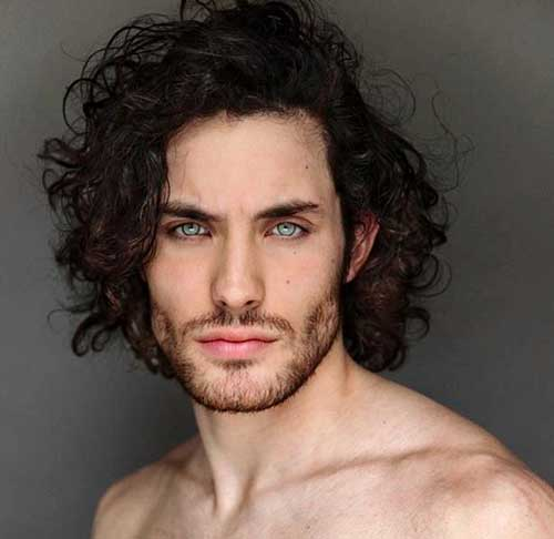 20 Curly Hairstyles Men Mens Hairstyles 2018