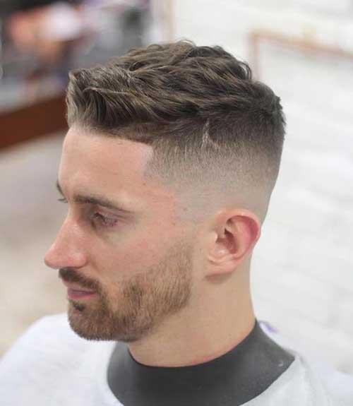 Mens Short coupe de cheveux