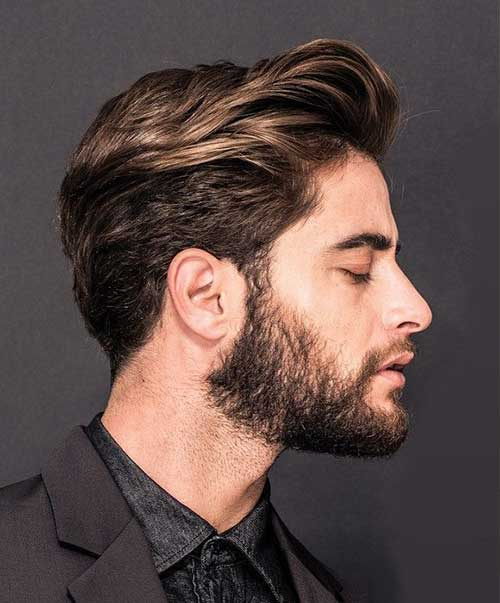 medium length hair style for men 25 medium length mens hairstyles mens hairstyles 2018 5516 | 16.Medium Length Mens Hairstyle