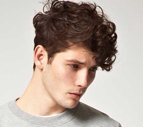 Men Curly Hairstyles For Medium Length Hair 2016