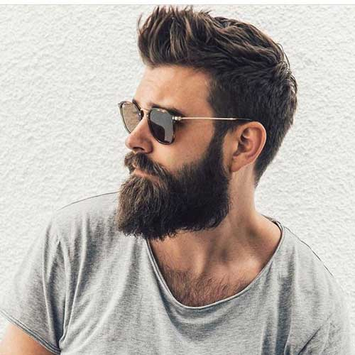 Stylish Bearded Guys And Cool Hairstyles Mens Hairstyles