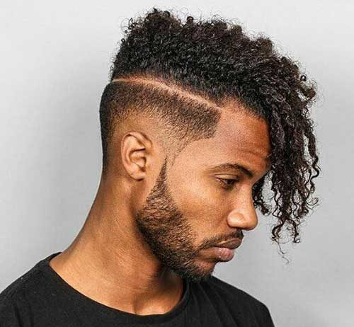Charming Cool Black Guys With Unique Hairstyles