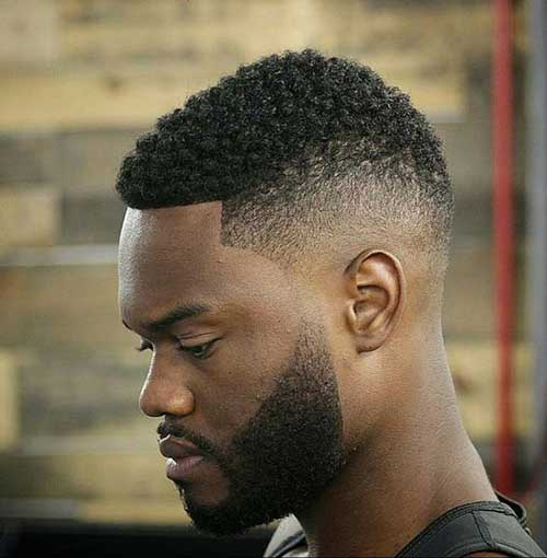 cool haircuts black stylish black guys with unique hairstyles mens 4817
