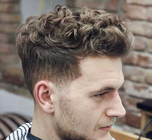 Diffe Hairstyle Ideas For Men With Curly Hair
