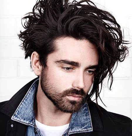 Messy Hairstyles Mens Hairstyles 2018