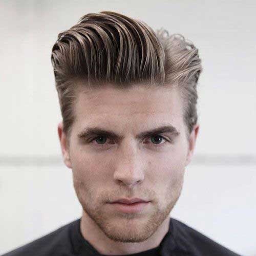 Pompadour Hairstyles for Men-7