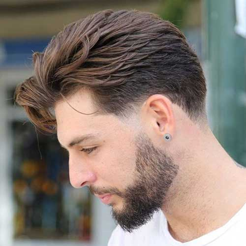 Pompadour Hairstyles for Men-8