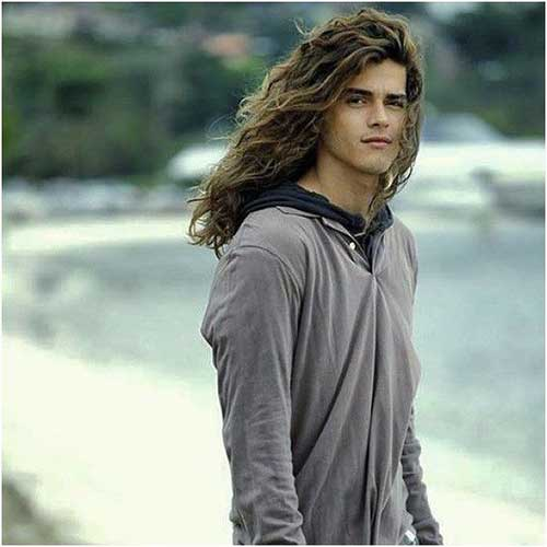Men Long Hair Styles-12