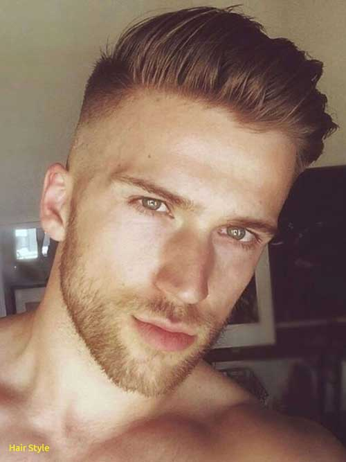 Short Side Long Top Hairstyles for Men-13