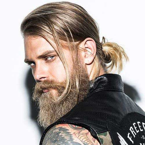 Men Long Hair Styles-17