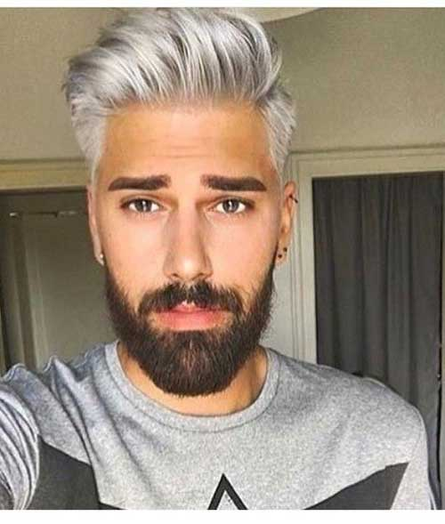 Short Side Long Top Hairstyles for Men-8