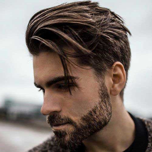 Short Side Long Top Hairstyles for Men-9