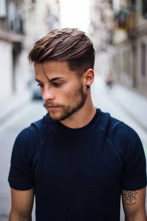 Short Side Long Top Hairstyles For Men Mens Hairstyles 2018