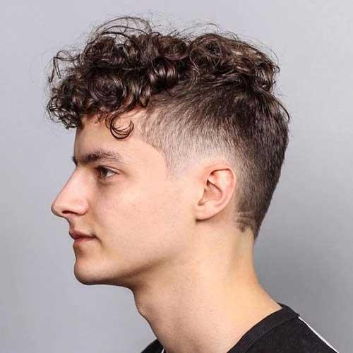 Lange Spitze Kurze Seiten Frisuren für Männer-10