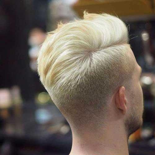Lange Spitze Kurze Seiten Frisuren für Männer-9
