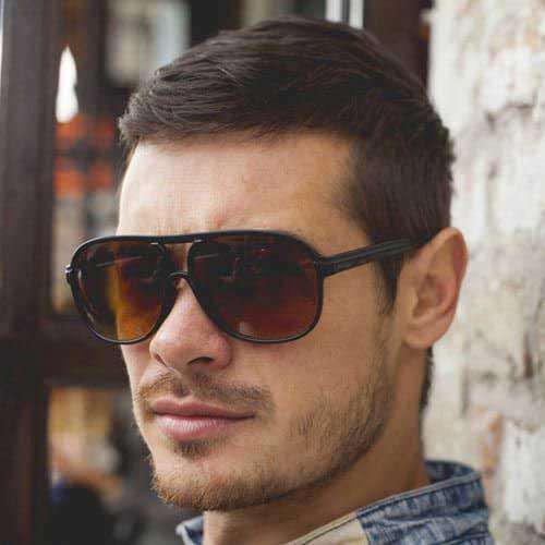 Einfache, Kurze Haarschnitte für Männer-10