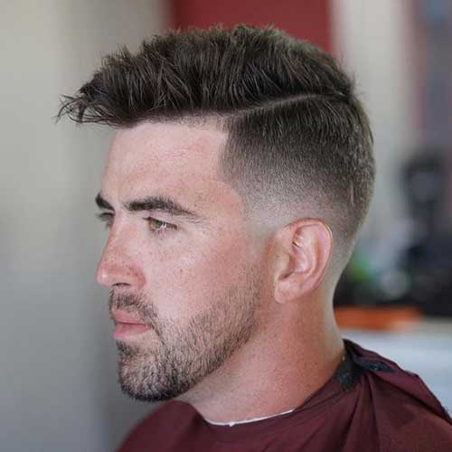 Faded Short Haircuts for Men-14