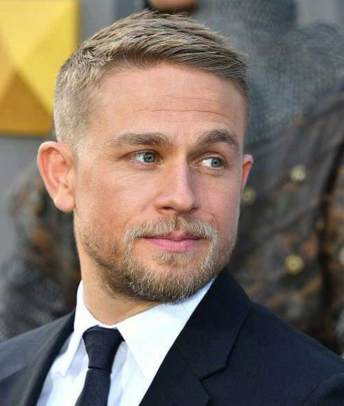 Blonde Short Haircuts for Men-15