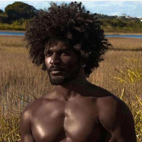 Hommes en Noir Coiffures 2019-18