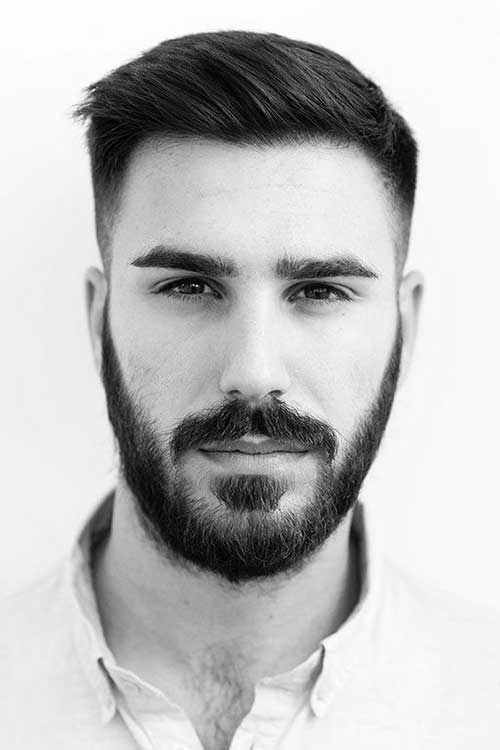 Side Swept Cut Short Haircuts for Men-6