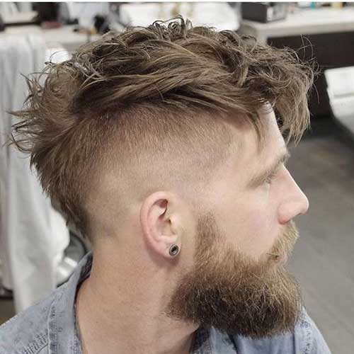 Mens Fade Medium Haircut-7