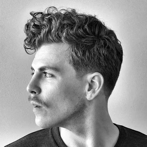 Best Haircuts for Men with Thick Curly Hair-8