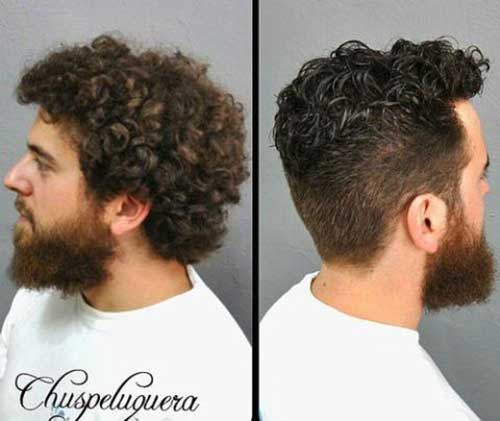 Cool Haircuts for Men with Curly Hair
