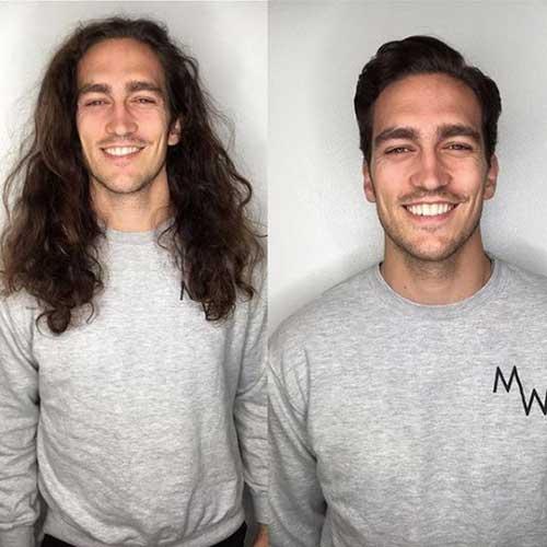 Coole Kurze Haarschnitte für Männer